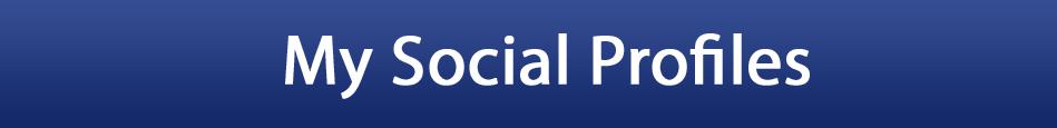 My Social Profiles